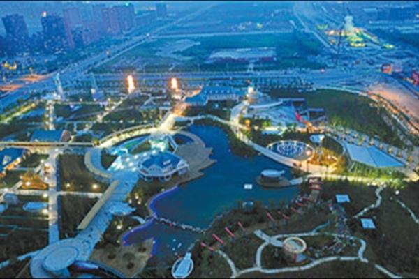 南京河西城市生态公园